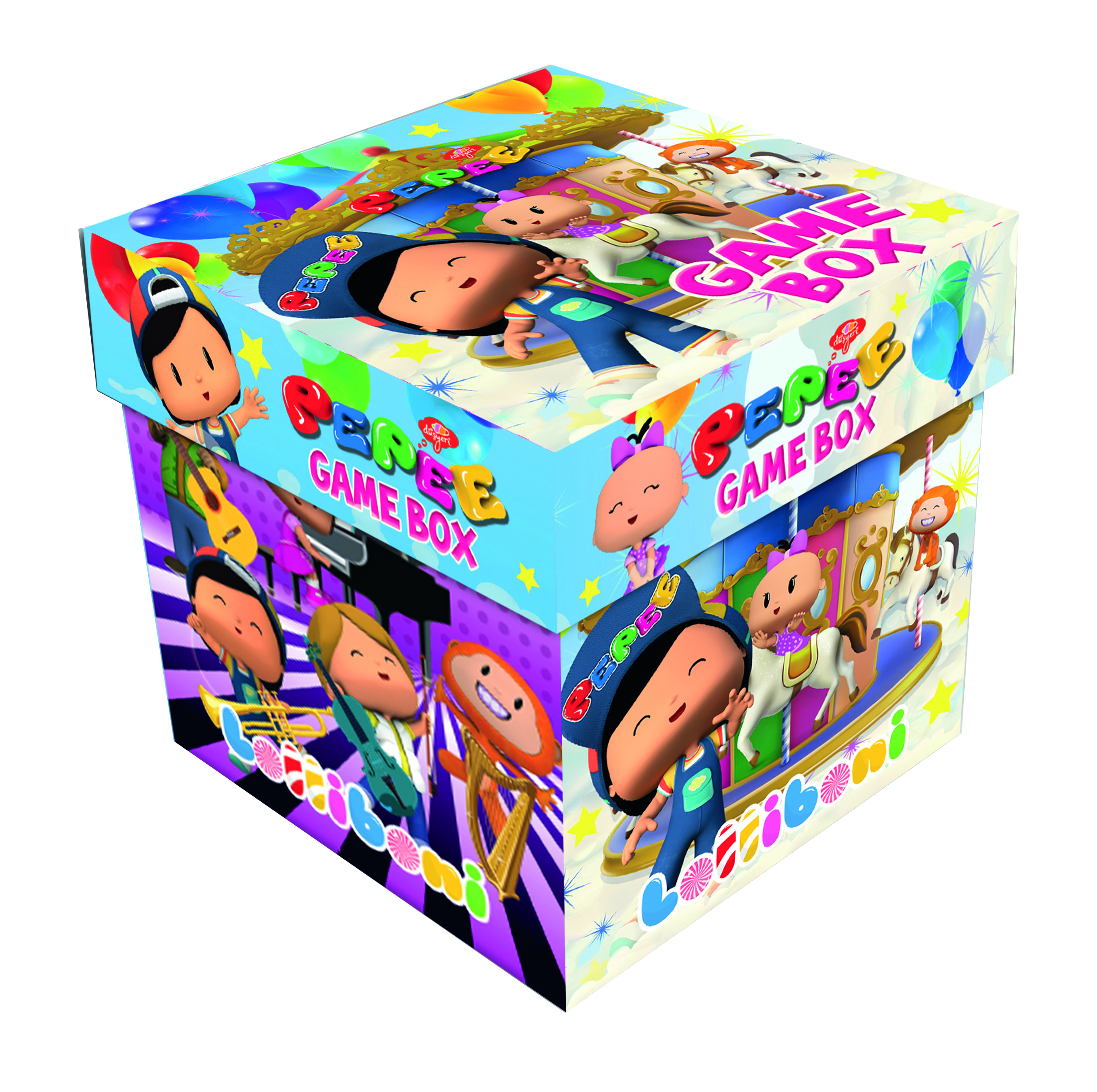 Pepee game box
