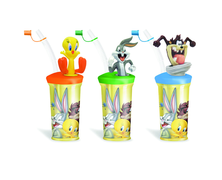 COCKTAIL CUP LOONEY TUNES