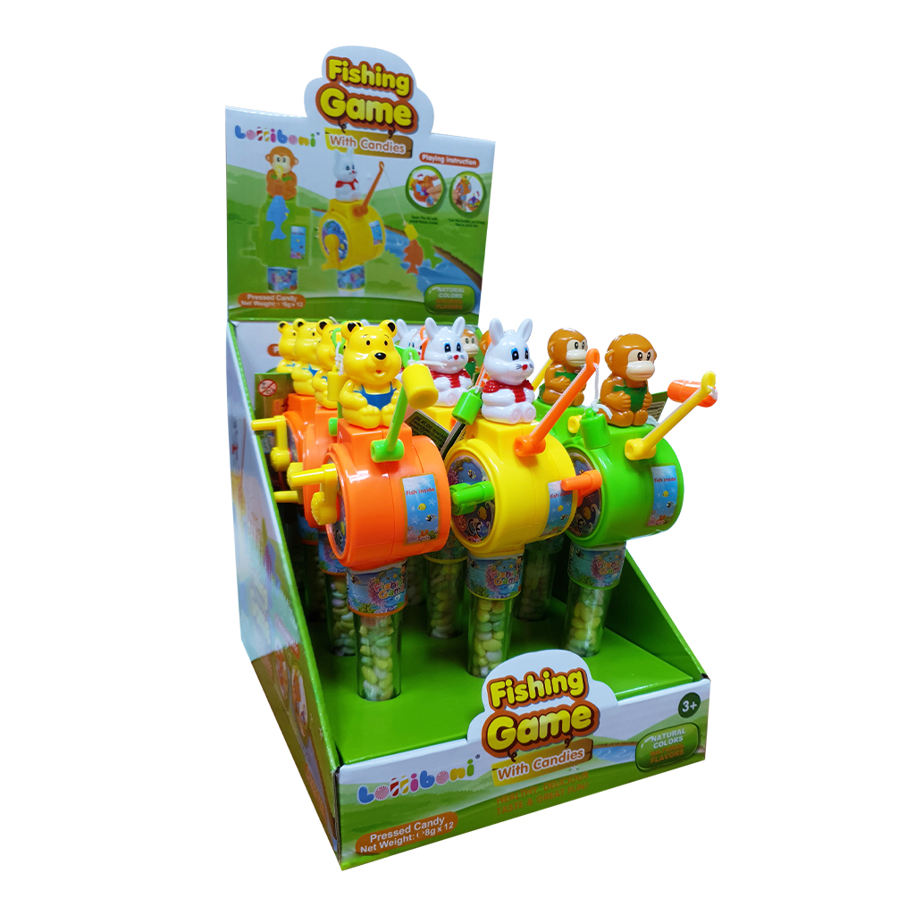 Lolliboni Fishing Toy with Candy