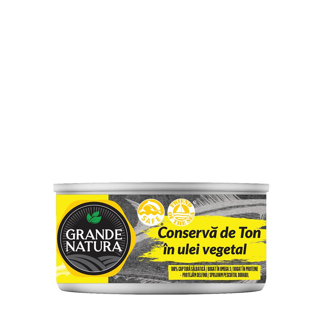 Grande Natura Canned Tuna in Vegetable Oil