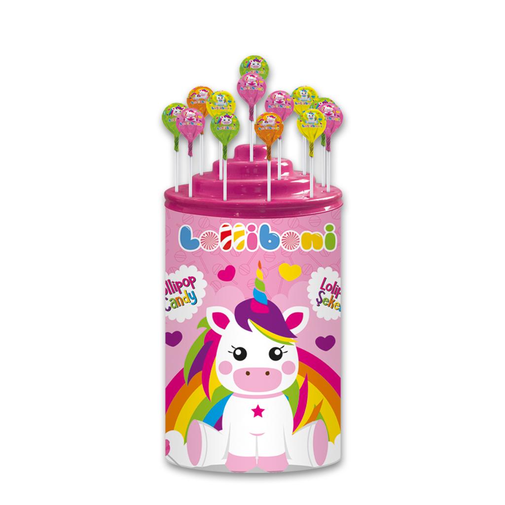Unicorn Lollipop Candy 16 g