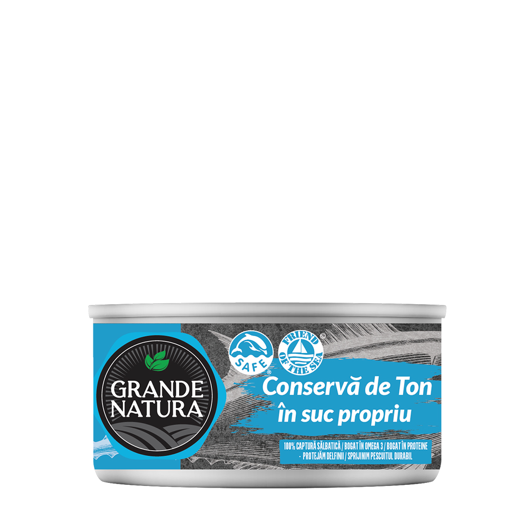 Grande Natura Canned Tuna in its Own Juice