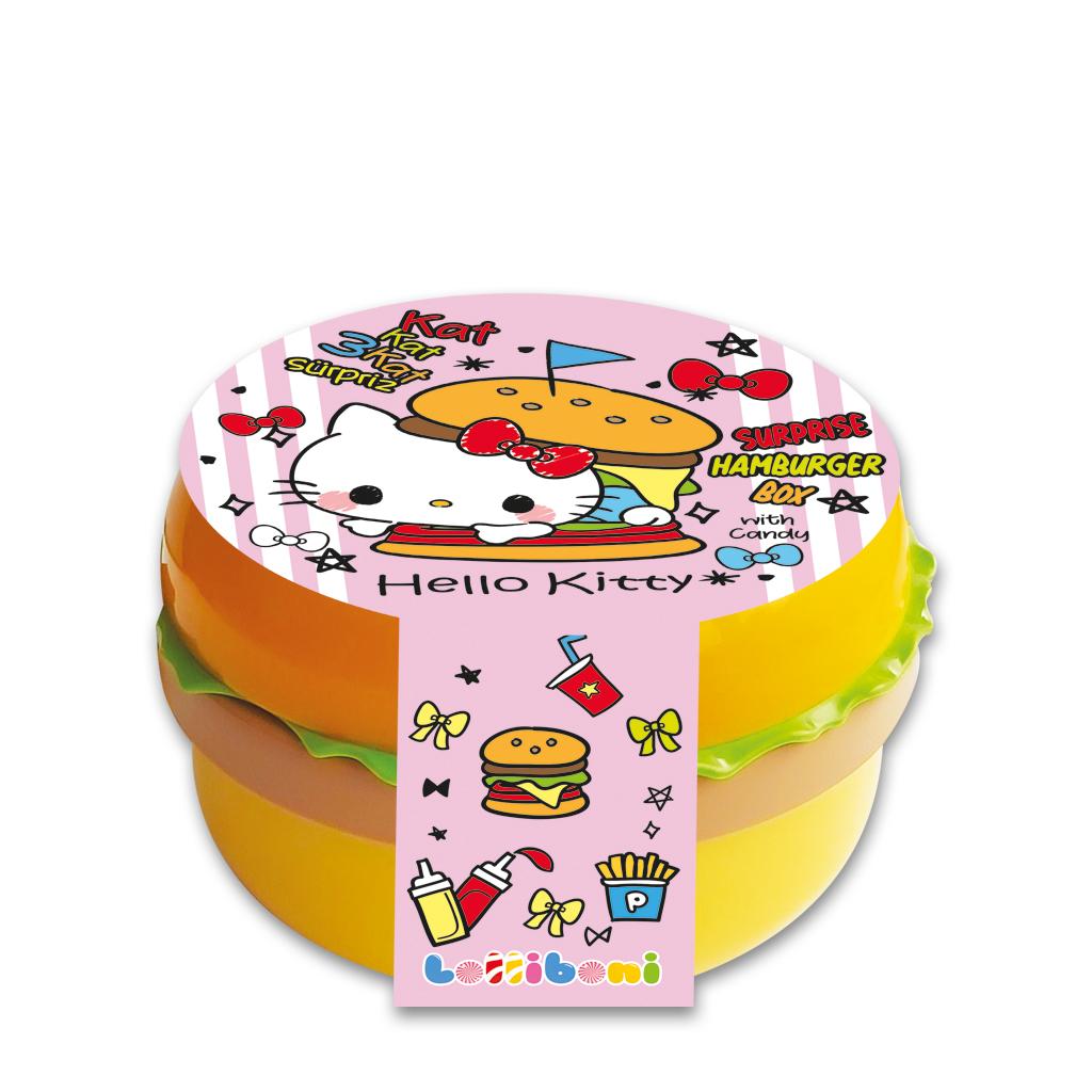 Hello Kitty Surprise Hamburger Box