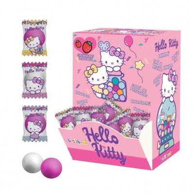 Pachet Gume De Mestecat Hello Kitty 200 Buc Cu Aroma De Capsuni