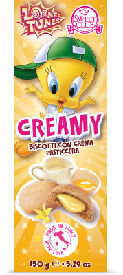 CREAMY BISCUITS WITH CUSTARD CREAM FILLING 150g 9.99