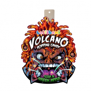 Popping candy Volcano cola si mere verzi