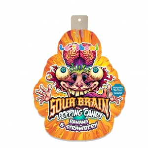 Sour Brain Popping Candy 18g