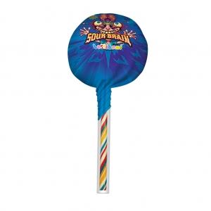 Sour Brain Big Lollipop Blue