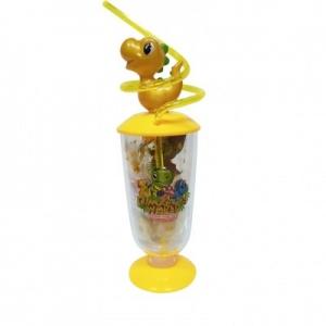Yellow Dinosaur Jar with Candies
